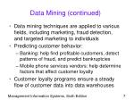 data mining continued7