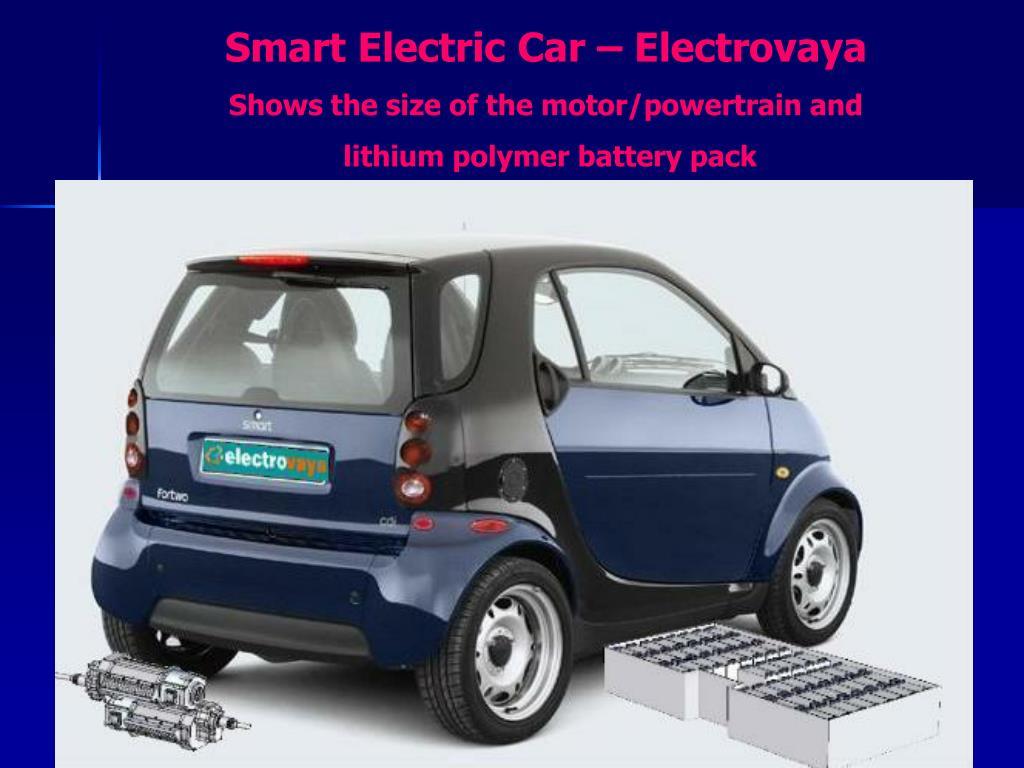 Smart Electric Car – Electrovaya