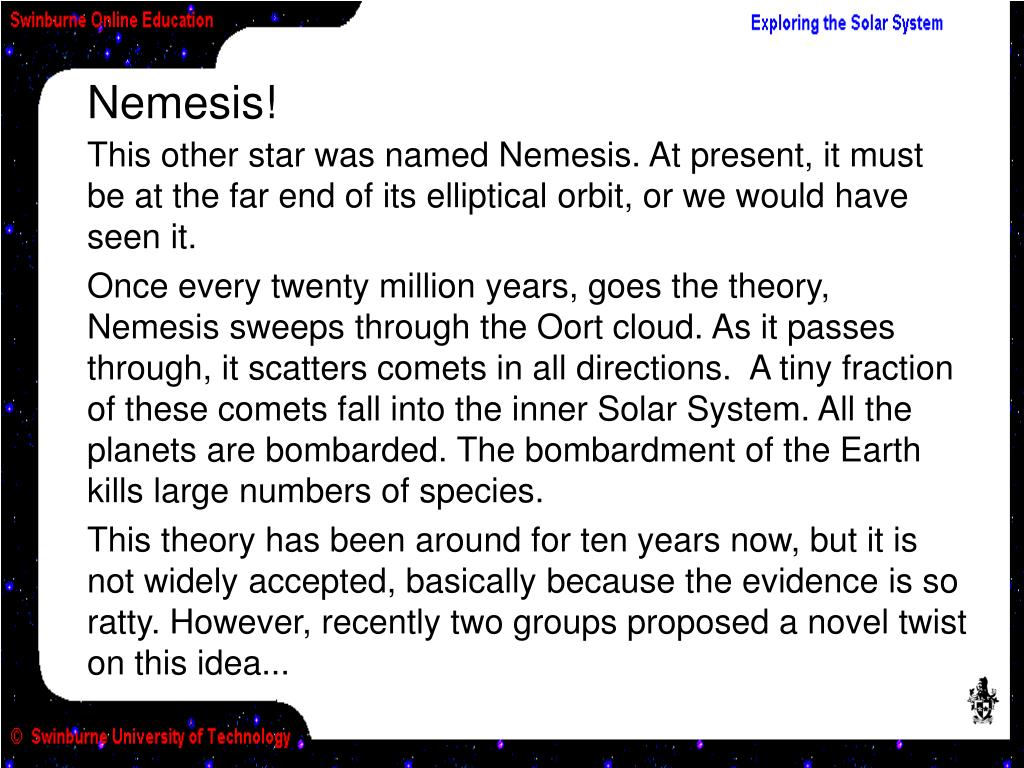 Nemesis!