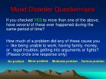 mood disorder questionnaire26