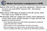 motion correction realignment in spm