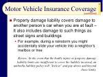 motor vehicle insurance coverage24