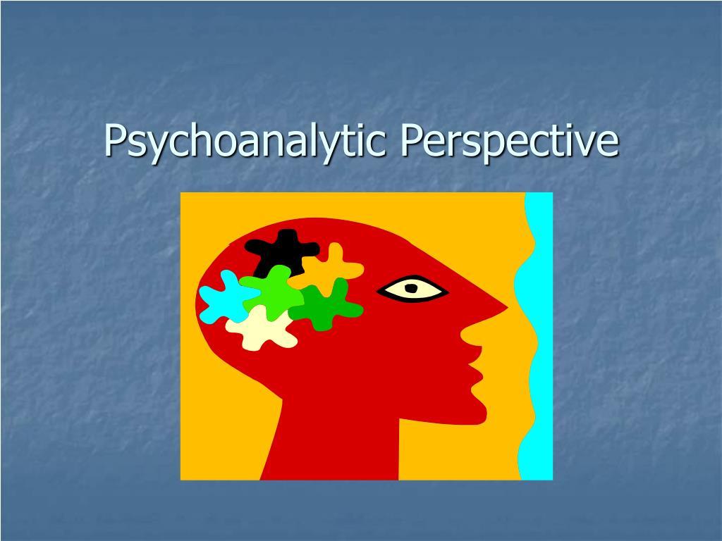 psychoanalytic perspective l.