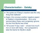 characterisation gatsby8