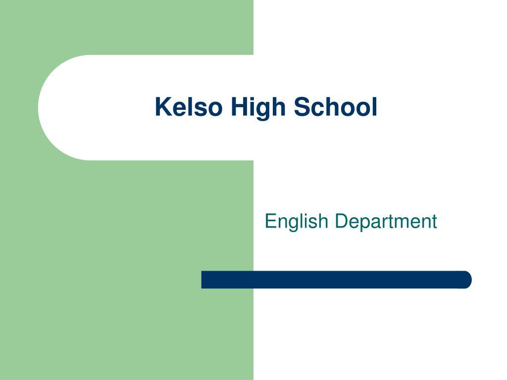 kelso high school l.