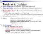 treatment updates
