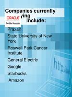 companies currently employing include
