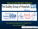 successful health alliance