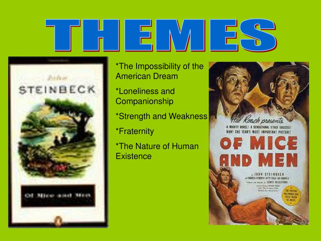 impossibility of the american dream through steinbeck