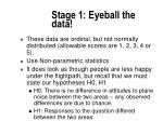 stage 1 eyeball the data