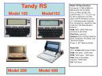 tandy rs model 100 model102