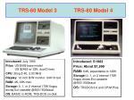 trs 80 model 3 trs 80 model 4