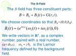 the b field