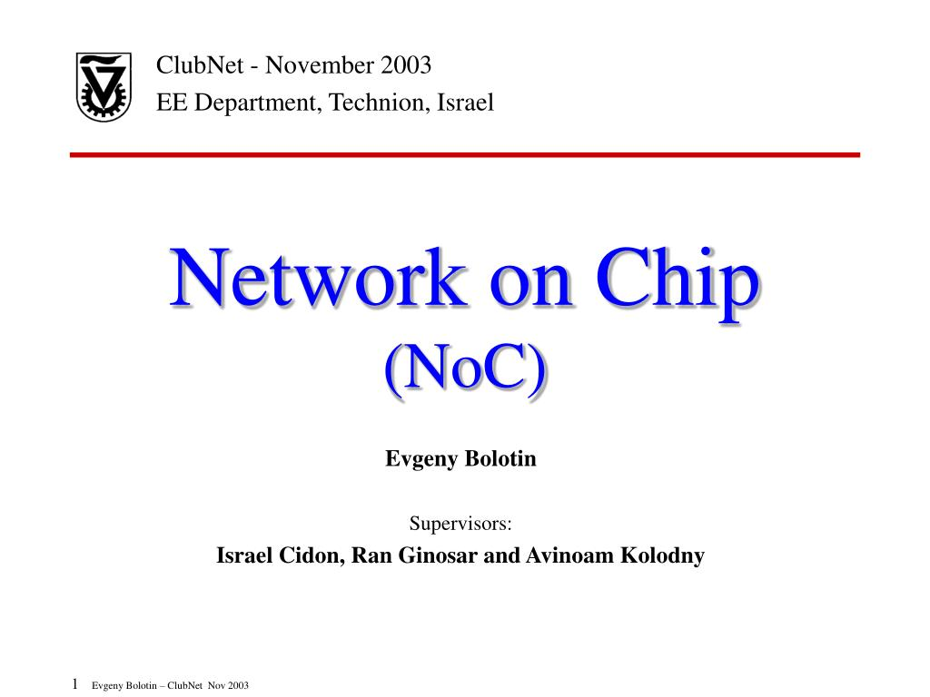 network on chip noc l.