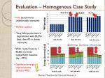 evaluation homogenous case study