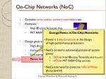 on chip networks noc4