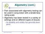 algometry cont106