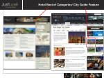 hotel best of categories city guide feature
