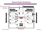 generic router architecture