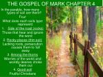 the gospel of mark chapter 4