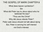 the gospel of mark chapter 8