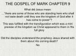 the gospel of mark chapter 9