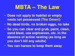 mbta the law12