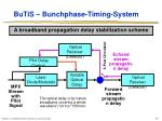 butis bunchphase timing system