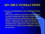 hiv drug interactions 2