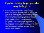 tips for talking to people who may be high 3