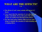what are the effects cont