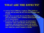 what are the effects32