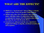what are the effects37