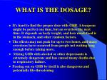 what is the dosage33
