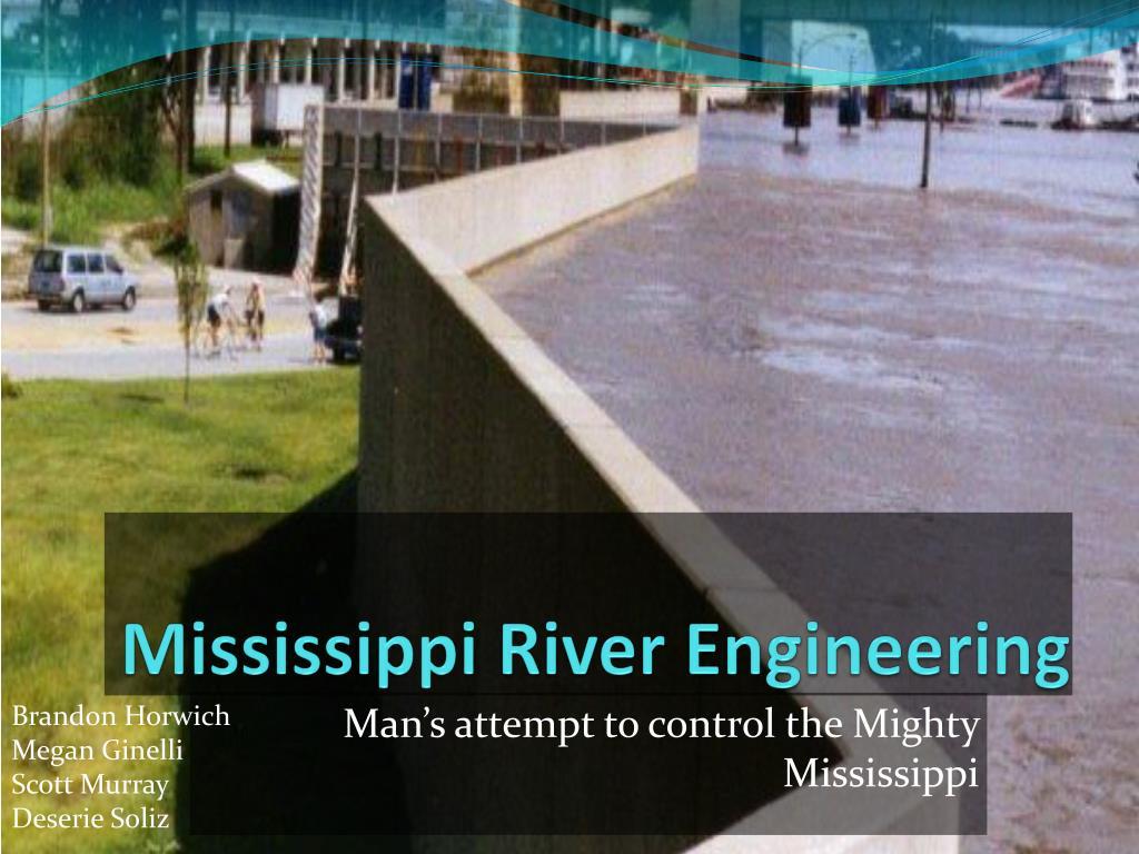 mississippi river engineering l.