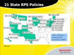 21 state rps policies