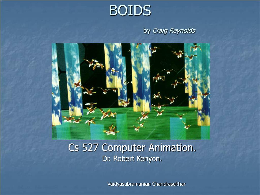 boids by craig reynolds l.