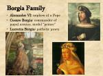 borgia family