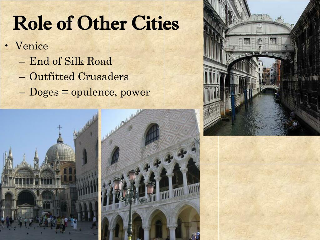 Role of Other Cities
