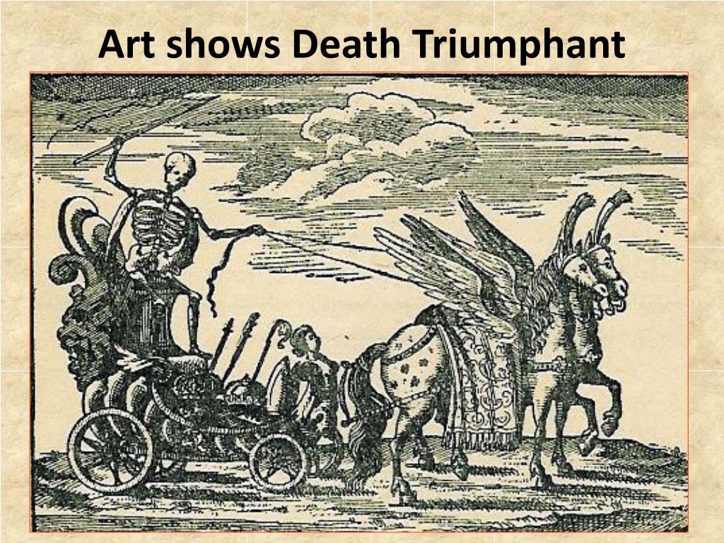 Art shows Death Triumphant