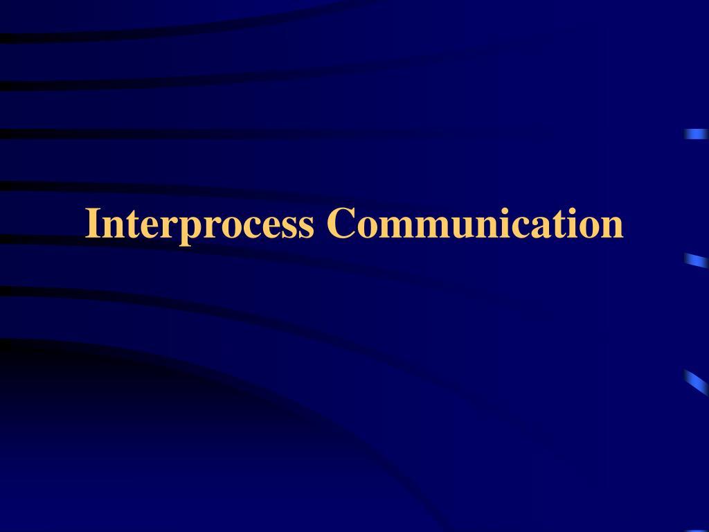 interprocess communication l.