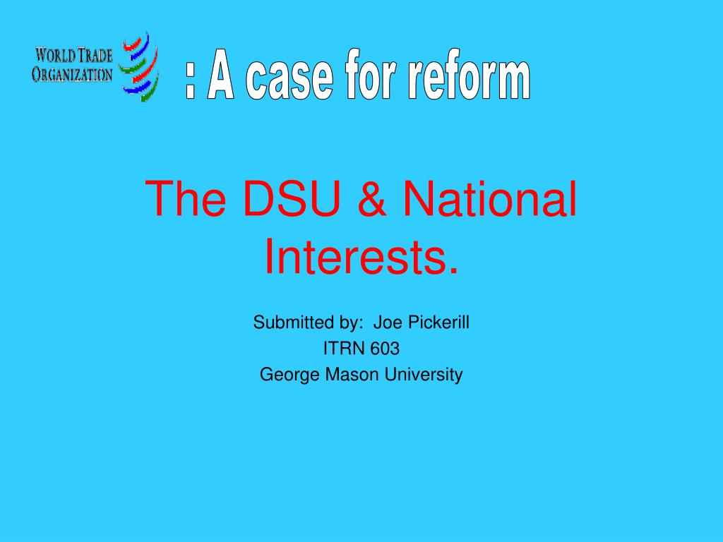 the dsu national interests l.
