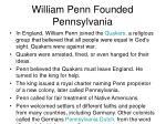 william penn founded pennsylvania