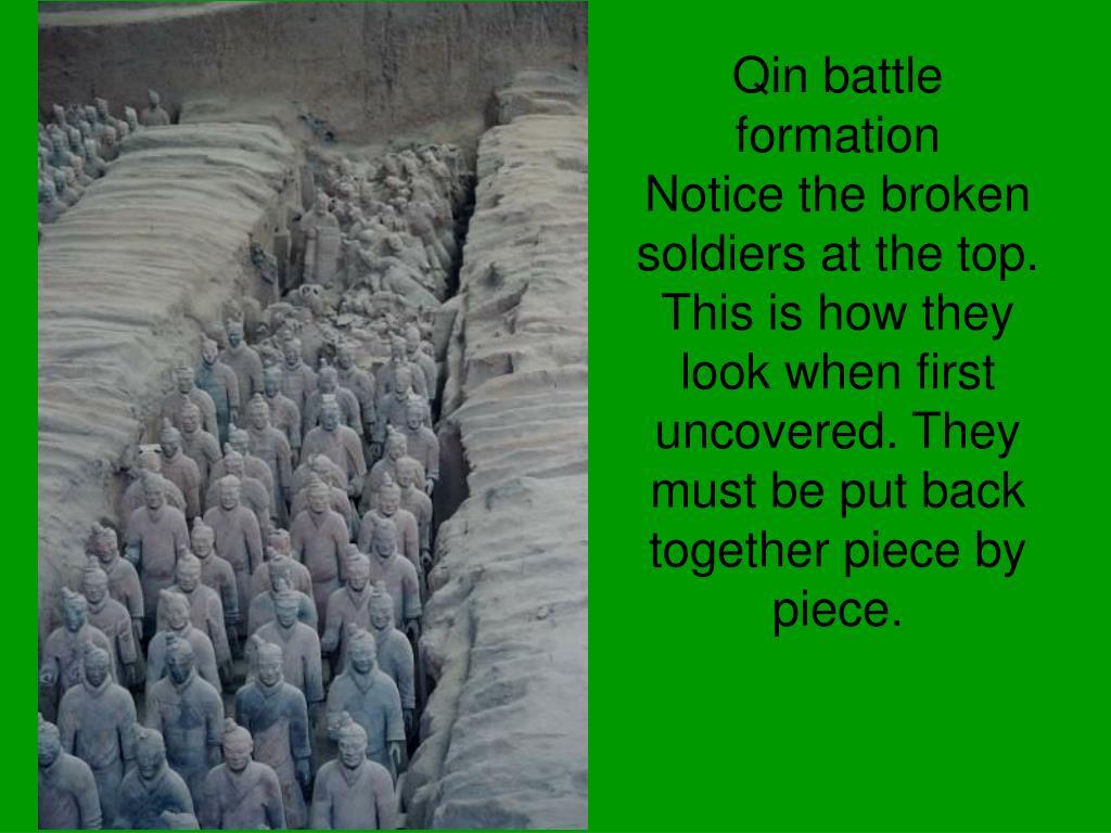 Qin battle formation