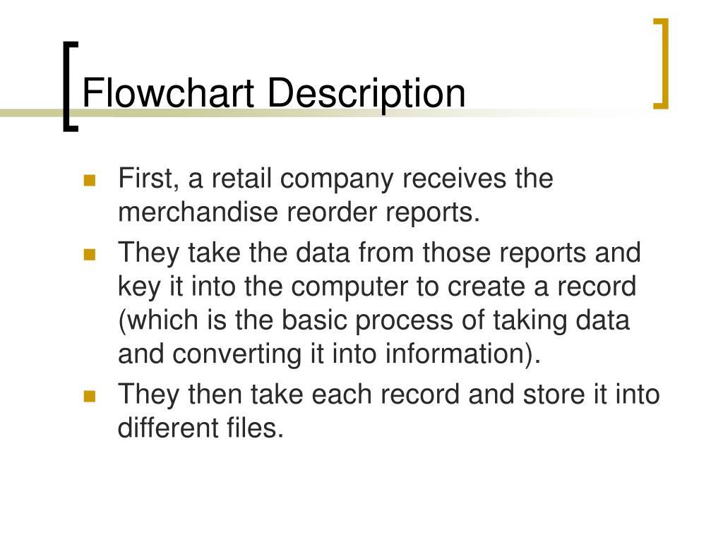 Flowchart Description