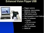 enhanced vision flipper usb