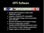 opti software