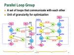 parallel loop group