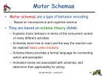 motor schemas