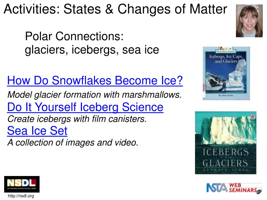 Activities: States & Changes of Matter